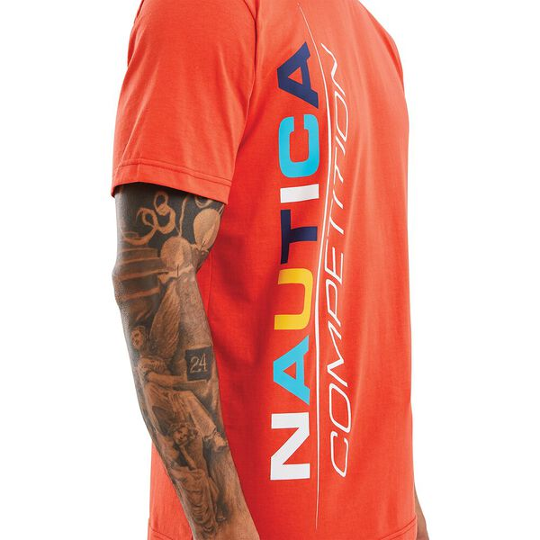 Nautica Competition Parley Tee, Red, hi-res