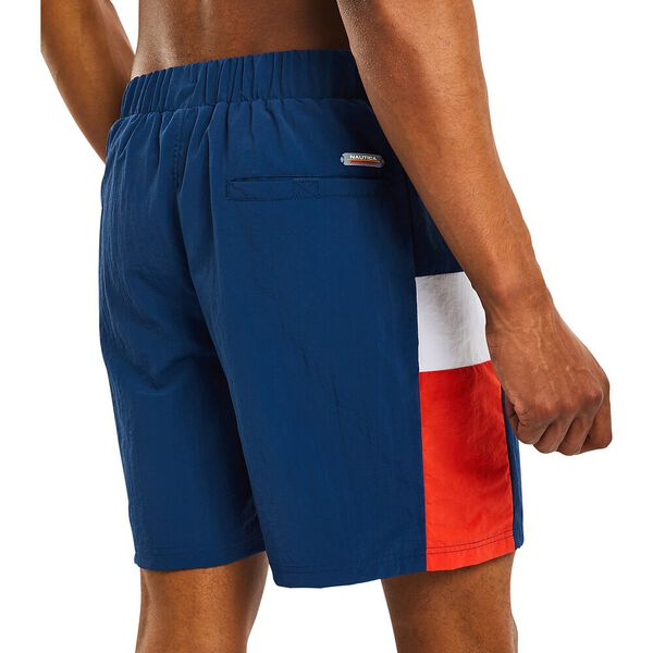 "Nautica Competition 16"" Turret Swim Shorts, Navy, hi-res"