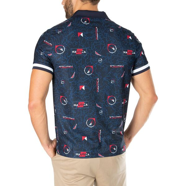 Sustainably Crafted J. Class And Flags Polo, Navy, hi-res