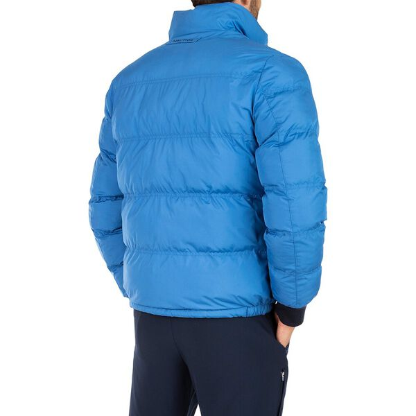 Reversible Down Bomber Puffer, Navy, hi-res