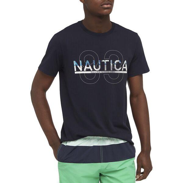 Nautica 83 Tee, Navy, hi-res