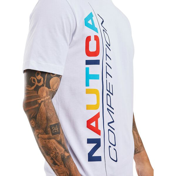 Nautica Competition Parley Tee, White, hi-res