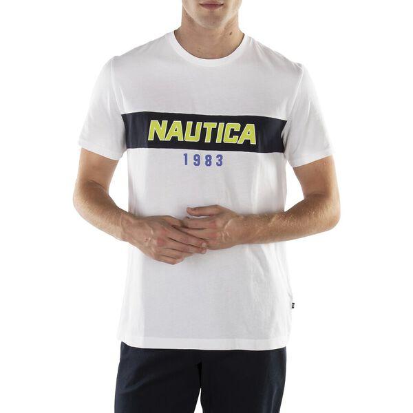 SINCE 1983 NAUTICA RACING TEE, BRIGHT WHITE, hi-res