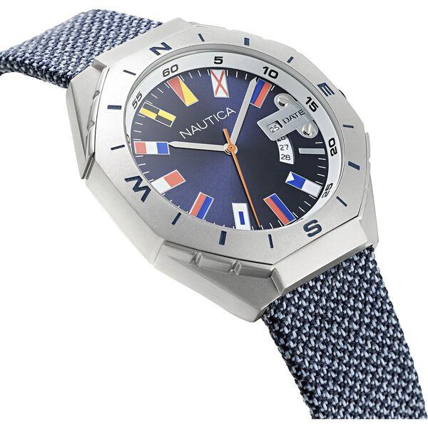 Love The Ocean Recycled N83 Watch, Rivet Grey, hi-res