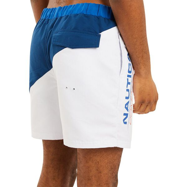 Nautica Competition Sterling Swim Shorts, Navy, hi-res
