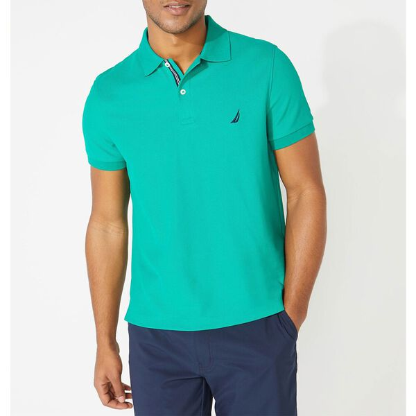 Slim Fit Performance Deck Polo, Pepper Green, hi-res