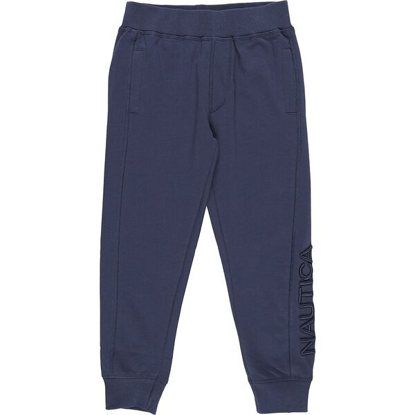 Boys 3 -7 Mini Always Ready Track Pants, Navy, hi-res