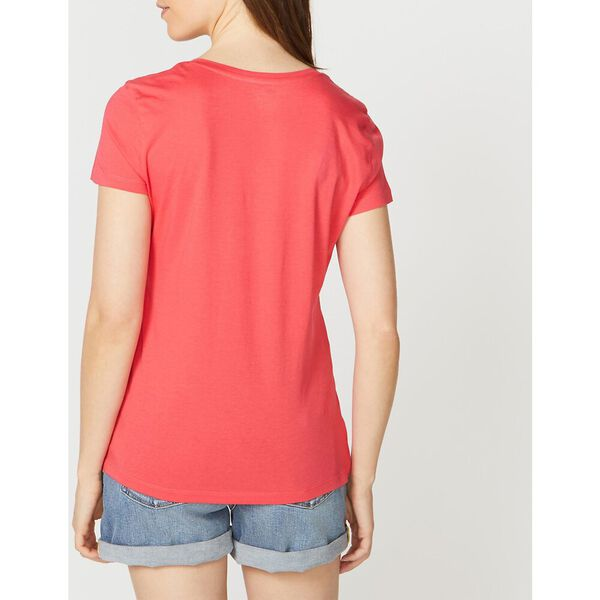 Anchor Scoop Neck Tee, Paradise Pink, hi-res