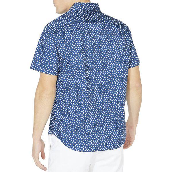Classic Fit Stretch Floral Shirt, Estateblue, hi-res
