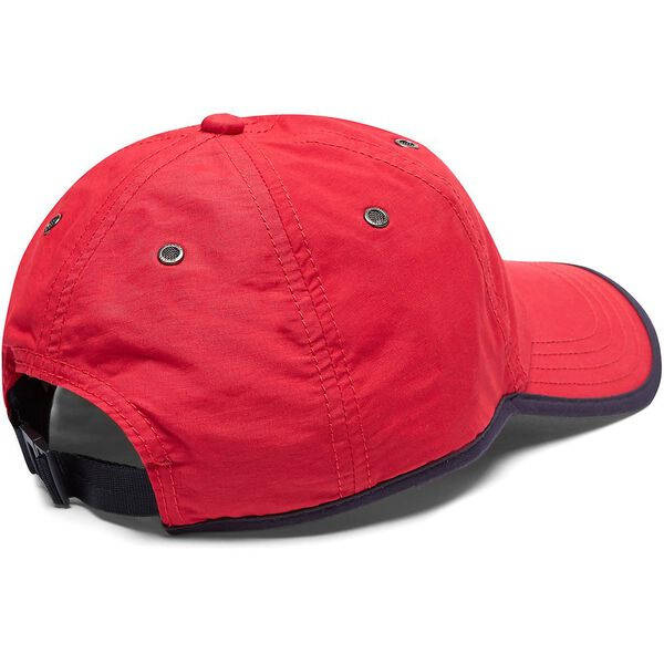 PERFORMANCE J CLASS LOGO CAP, NAUTICA RED, hi-res