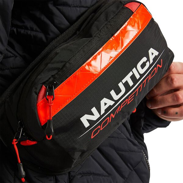 Nautica Competition Jasper Cross-Body Bag, Black, hi-res