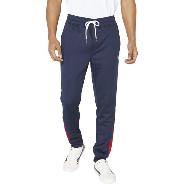 Nautica Retro Shine Blocked Track Pants