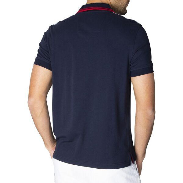Slim Fit J. Class Colourblock Polo, Navy, hi-res