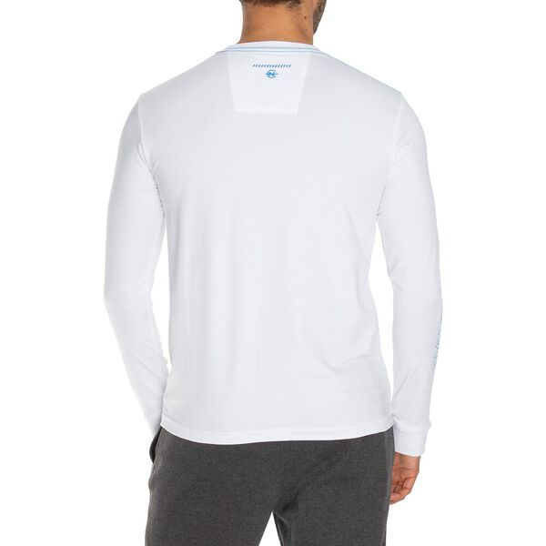 NAUTICA COMPETITION EMBLAZONED LONG SLEEVE TEE, BRIGHT WHITE, hi-res