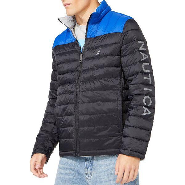 Tempasphere Reversible Lightweight Jacket, True Black, hi-res