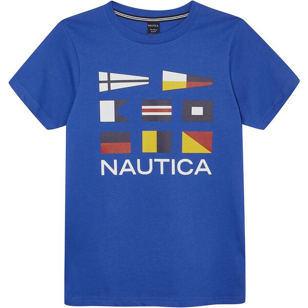 Boys 8-14 Sonar Nautical Flags Graphic Tee