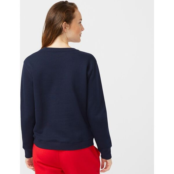 Cross Over Sweater, Navy, hi-res