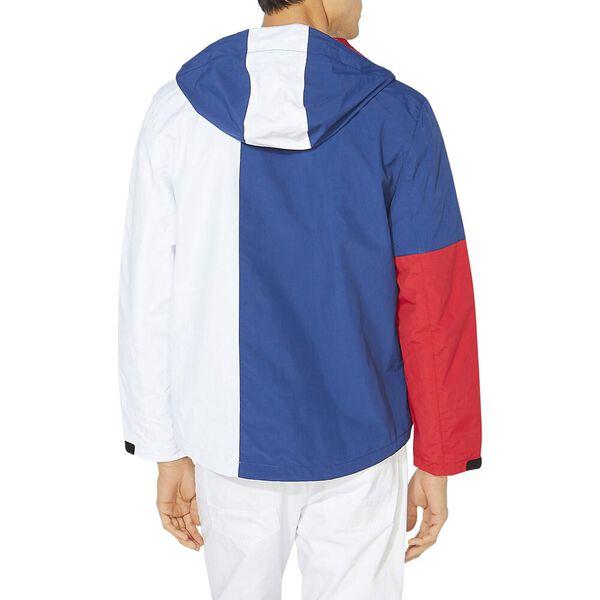 Lightweight Colour-Block Jacket, Estate Blue, hi-res