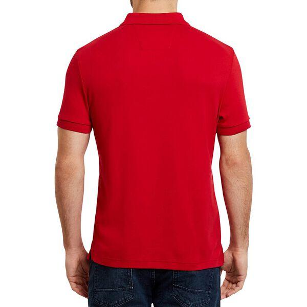 Slim Fit Interlock Polo, Nautica Red, hi-res