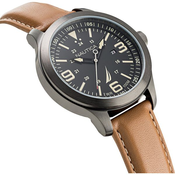 Point Loma Tan Watch, Brown, hi-res