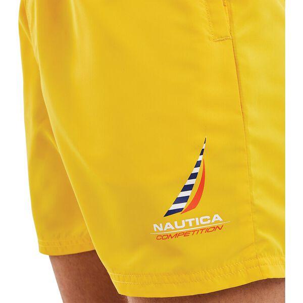 Nautica Competition Waveson Swim Shorts, Yellow, hi-res