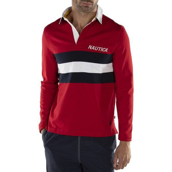 CHEST STRIPE YACHTING RUGBY