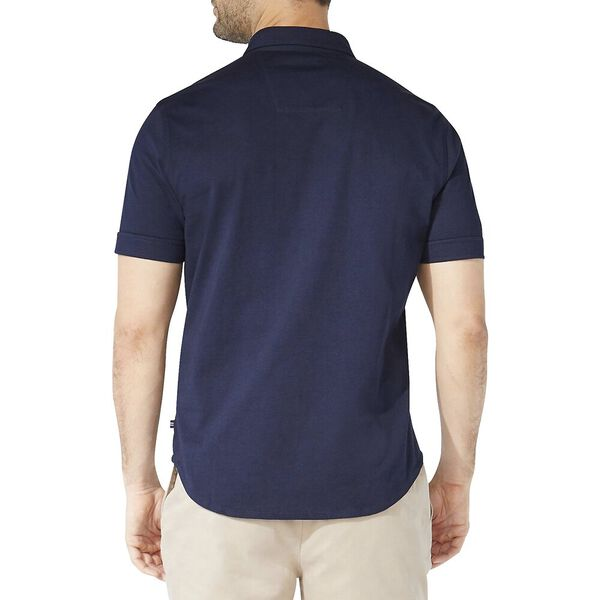 Classic Fit Jersey Short Sleeve Shirt, Navy, hi-res