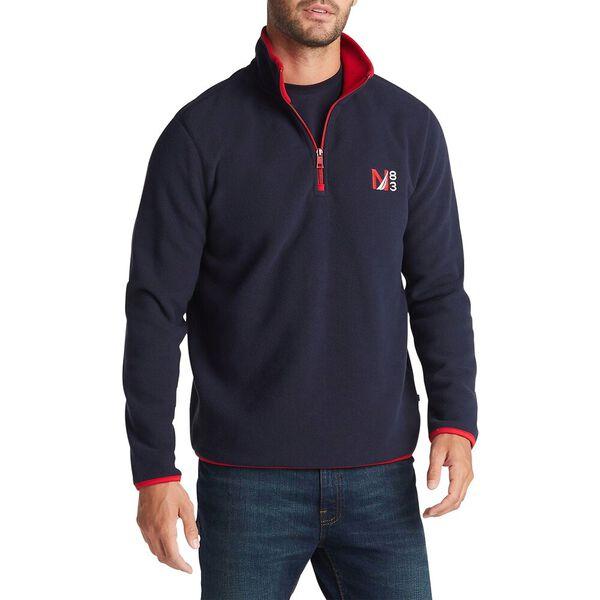 Big & Tall Quarter Zip Nautex Fleece Pullover