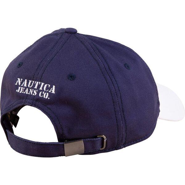 99 Nautica Patch Cap, J Navy, hi-res
