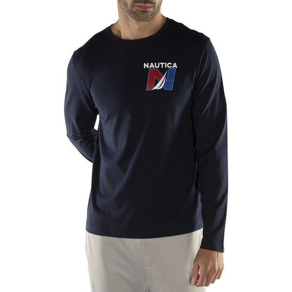 Nautica Sailing N Edition Long Sleeve Tee