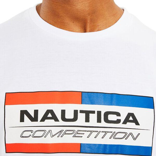Nautica Competition Halyeard Tee, Bright White, hi-res