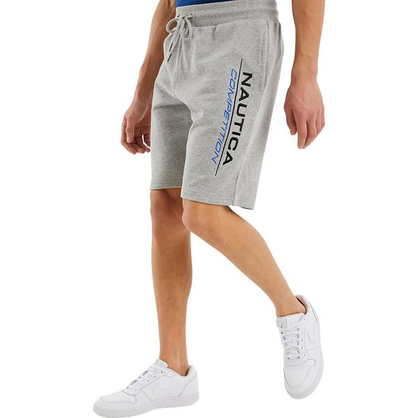 Nautica Competition Dodger Track Short, White, hi-res
