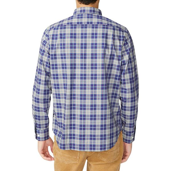 Navtech Classic Plaid Shirt, Grey Heather, hi-res
