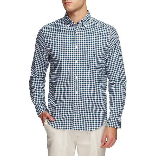 Navtech Plaid Pocket Long Sleeve Shirt, Tidal Green, hi-res