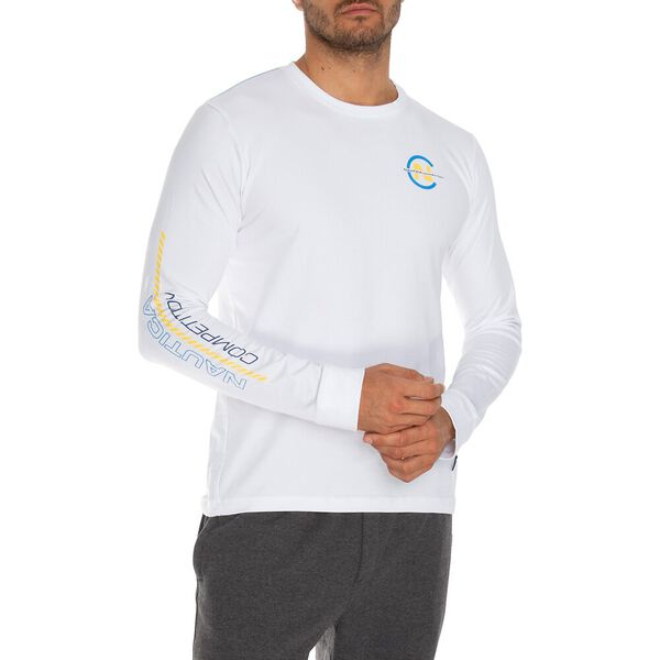 Nautica Competition Emblazoned Long Sleeve Tee