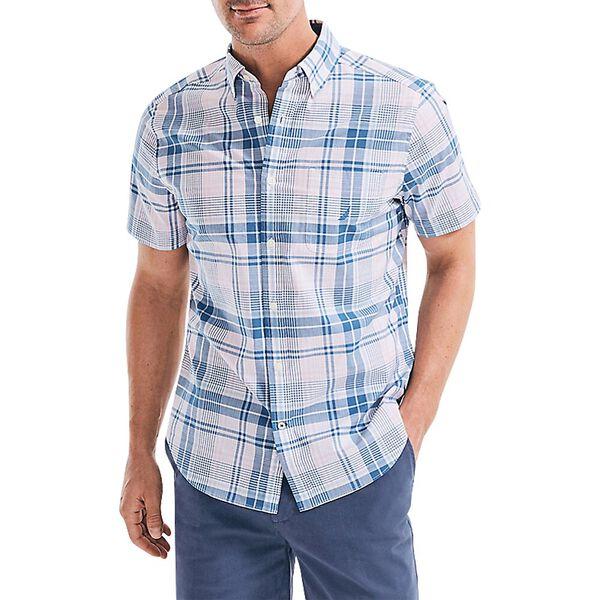 Classic Fit Navtech Under Check Short Sleeve Shirt