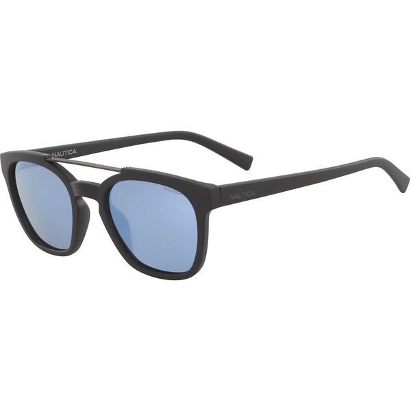 NAUTICA BROW BAR RECTANGULAR SUNGLASSES