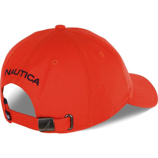 Nautica Classic J. Class Cap, Orange Poppy, hi-res