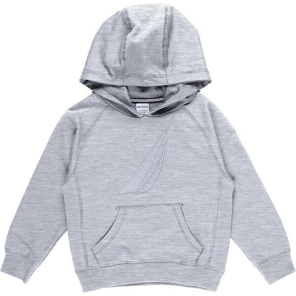 Boys 8-14 Mini Always Ready hoodie, Grey Heather, hi-res