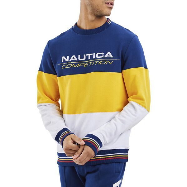 Nautica Competition Bow Sweater, Navy, hi-res