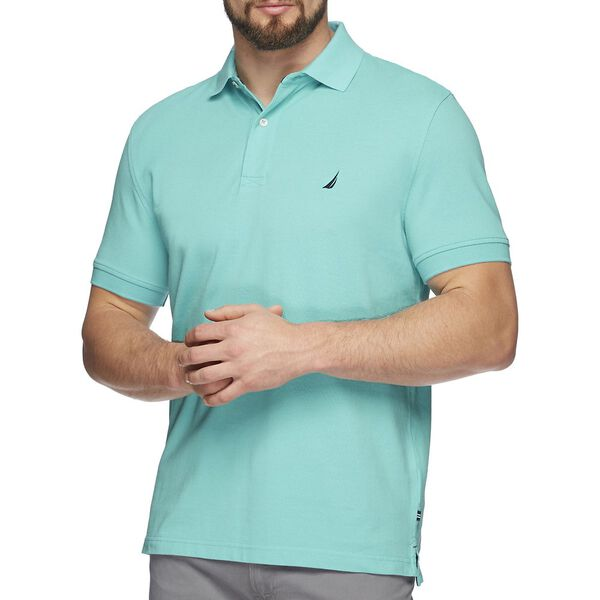 Short Sleeve Solid Polo, BALI BLISS, hi-res
