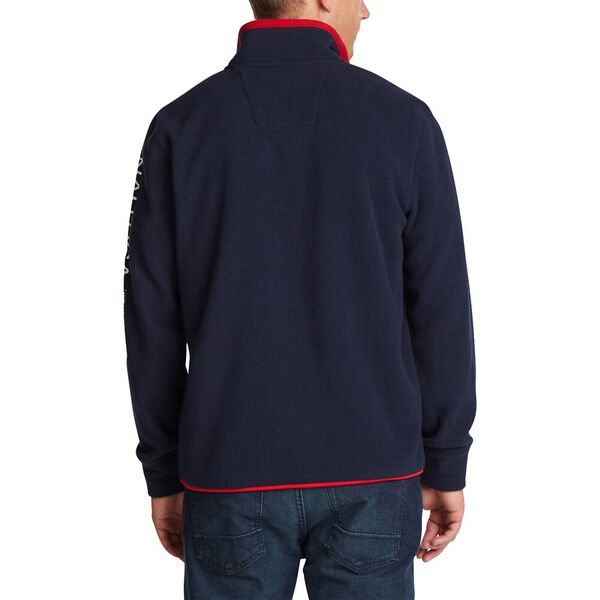 Nautex Quarter Zip Sweater, Navy, hi-res