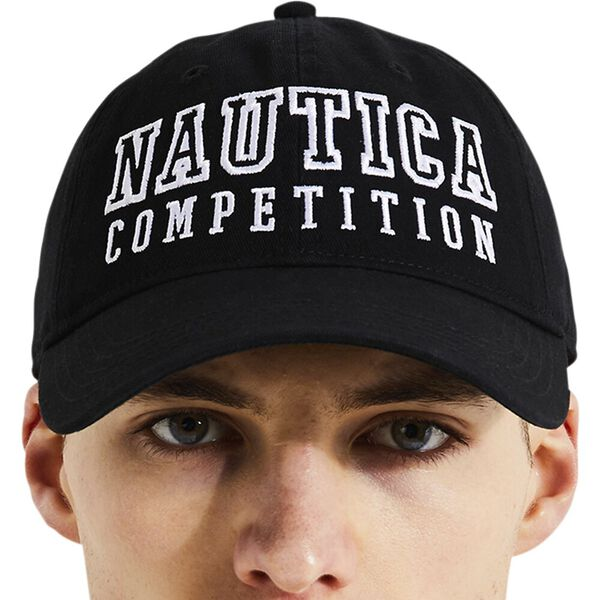 Nautica Competition Teller Cap, Black, hi-res