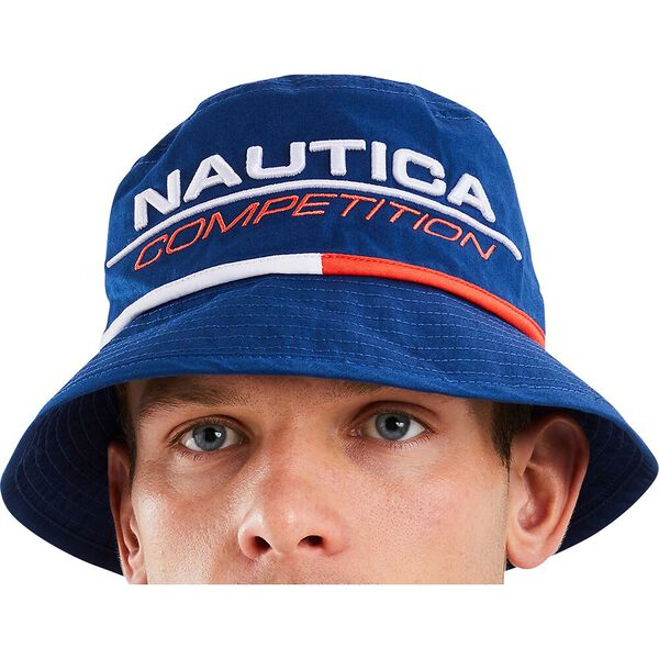 Nautica Competition Rogers Bucket Hat, Navy, hi-res