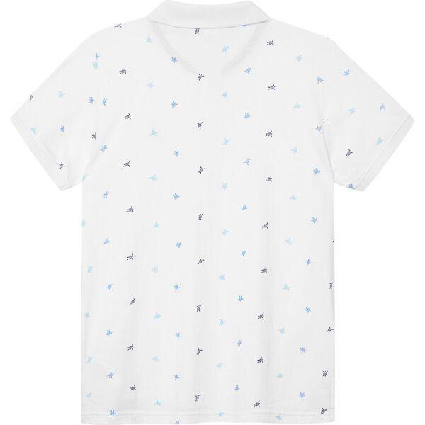 Boys 3 -7 Felix Polo Shirt, White, hi-res