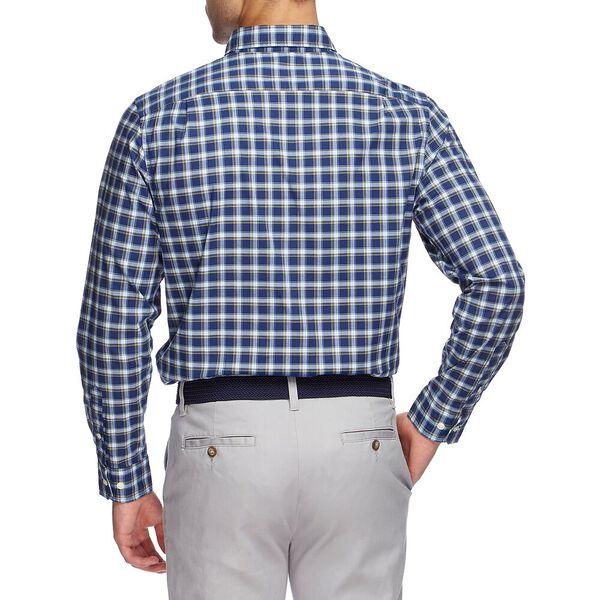 Navtech Coolest Comfort Plaid Long Sleeve Shirt, BLUE DEPTHS, hi-res