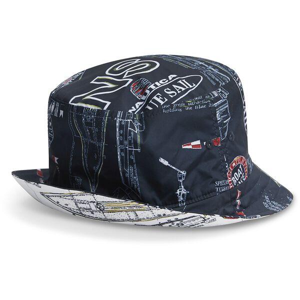 Blue Sail Navigate Reversible Bucket Hat