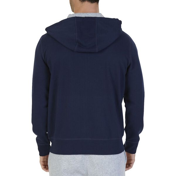 Big & Tall Athletic Full Zip Hoodie, Navy, hi-res