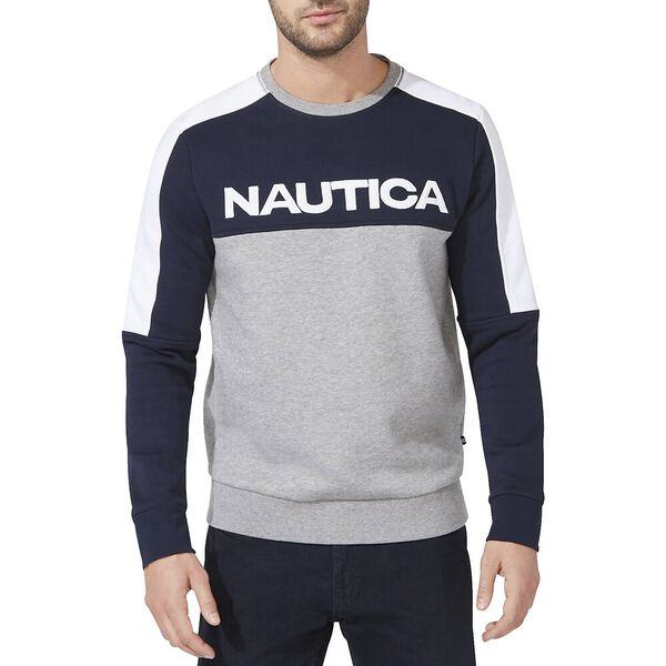 Starboard Block Graphic Crew Sweater