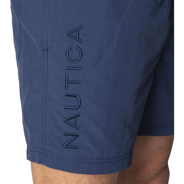 Nautica Always Water Ready Swim Shorts, Navy, hi-res